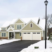 By installing heating cables in outdoor areas, icing and snow accumulation are prevented