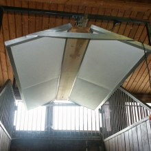 Heating of livestock facilities.