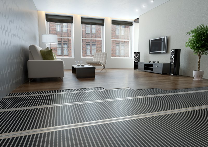 ecofilm f foils for floor heating fenix. Black Bedroom Furniture Sets. Home Design Ideas