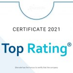 """Fenix Group a.s. met the conditions for the receipt of the """"Top Rating"""" certificate as of the given date."""