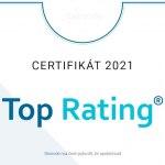 """Fenix Group a.s. k danému dni splnila podmínky udělení certifikačního hodnocení """"Top Rating"""""""