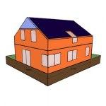Modelová stavba, Zjednodušená ilustrace